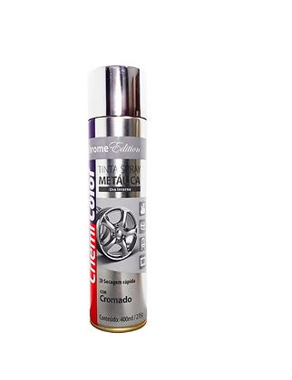 Tinta Spray Cromado 400ml/235g
