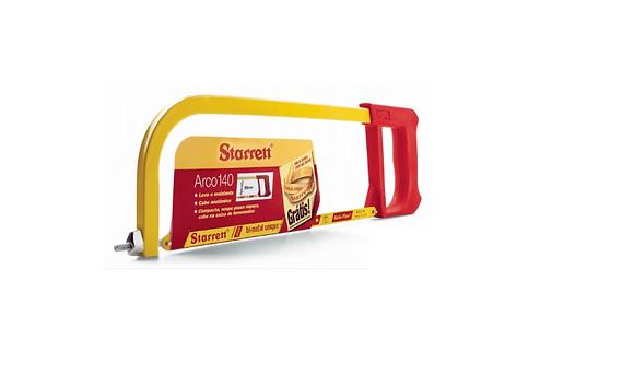"""Arco Serra Manual Starrett 12"""" (Acompanha 1 folha de serra)"""