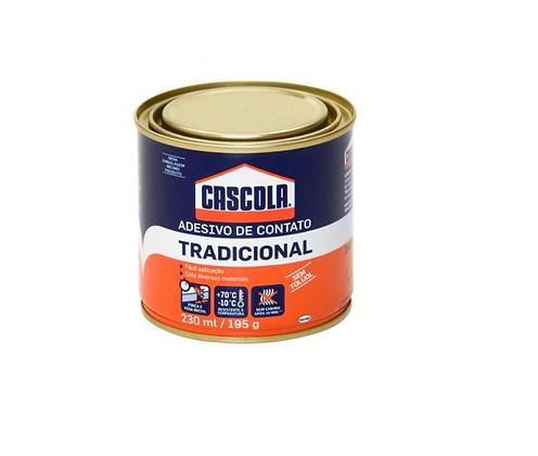 Cascola Tradicional 195g (Cola de contato) sem Toluol