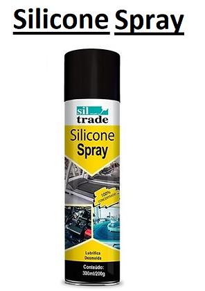Silicone em Spray 300ml/200g