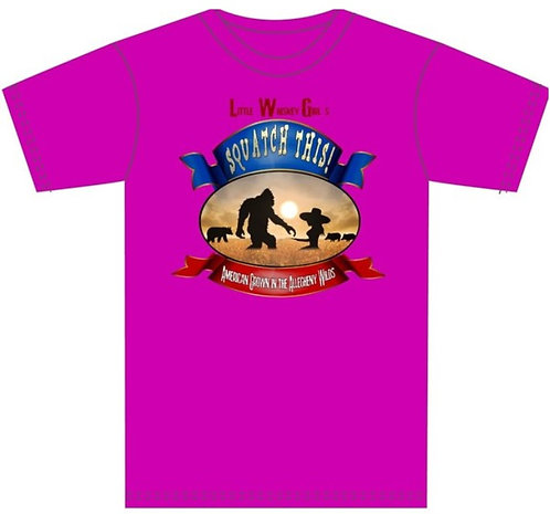 """LWG Pink """"SquatchThis!"""" T-Shirt"""