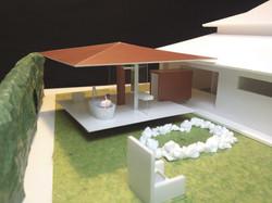 杭柱の湯屋