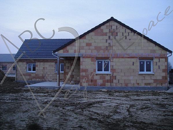 Création dune maison individuelle denviron 130m2 de plein pied