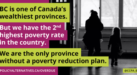 BC Needs a Poverty Reduction Strategy