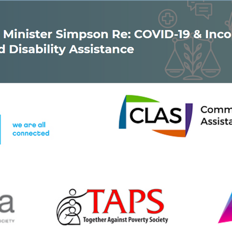 ADVOCATES URGE MINISTRY TO LET WORKERS ON DISABILITY KEEP NEW FEDERAL COVID-19 BENEFITS