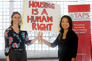 Yuka and Emily - Housing is a Human Righ