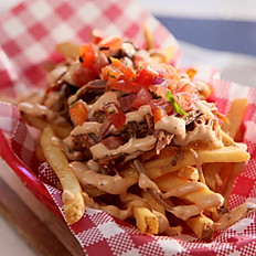 Pulled Pork Dirty Fries