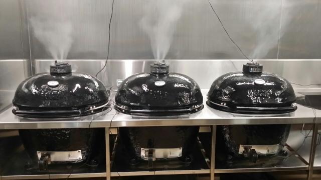 Grills smoking