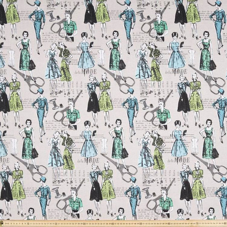NEW FABRIC FOR IRONING COVER-LADIES