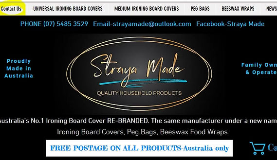 ABOUT AUSTRALIA'S BEST IRONING BOARD COVER