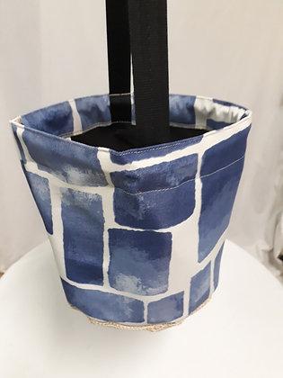 BLUE BRICKS-peg bag