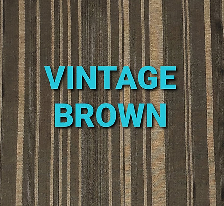 VINTAGE BROWN- universal ironing board cover