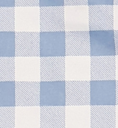 GINGHAM BLUE-SMALL/TABLETOP COVER