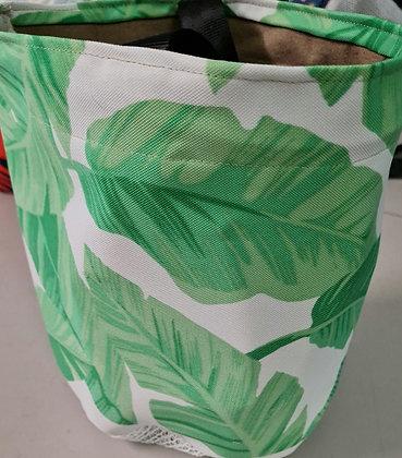 BANANA LEAF GREEN-PEG BAGS