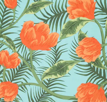 TROPICAL TANGERINE-universal ironing board cover