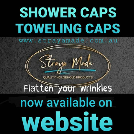 SHOWER & TOWELING CAPS
