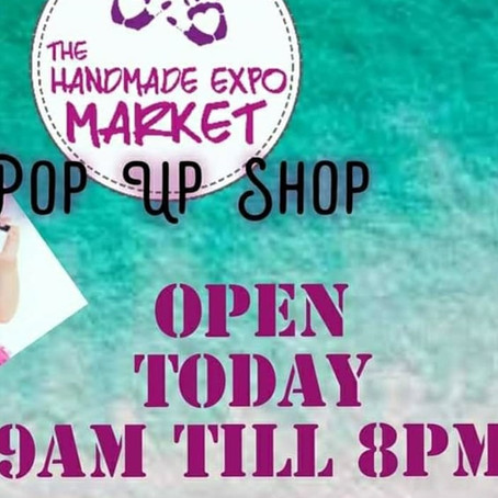 THE HANDMADE EXPO POP UP SHOP IS BACK