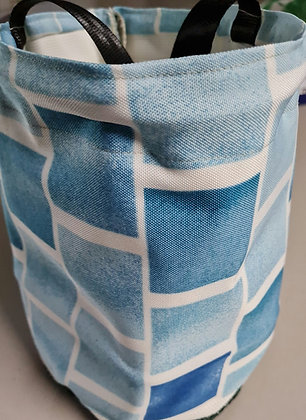 BLUE BRICKS-PEG BAGS