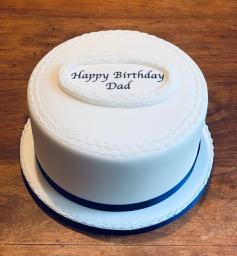 the gentleman's cake