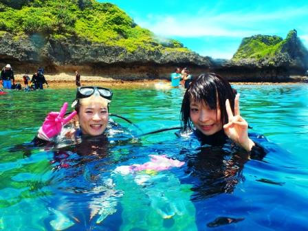 沖縄 青の洞窟 ダイビング 大成功