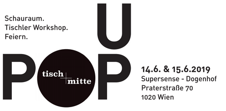 Tisch Mitte Pop Up