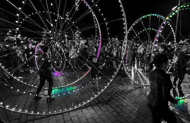 Color Wheels - Place de la République 2