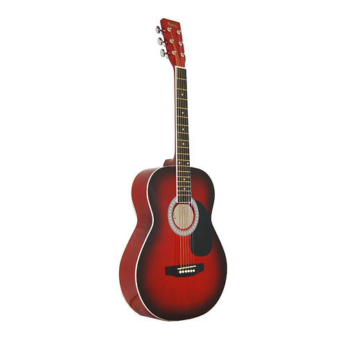 Madera  3/4 Acoustic Guitar - Red Burst