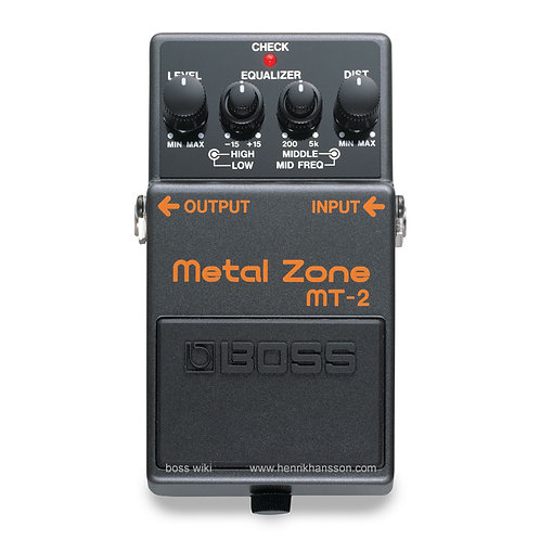 Boss Metal Zone Pedal