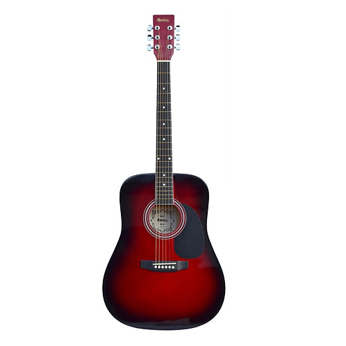 Madera Acoustic Guitar - Red Burst