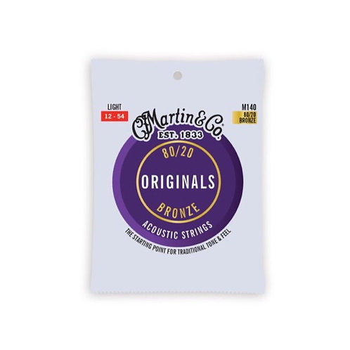 Martin Light Acoustic Strings