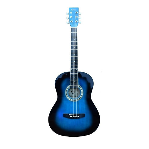 Madera  3/4 Acoustic Guitar - Blue Burst