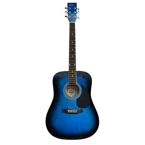Madera Acoustic Guitar -Blue Burst
