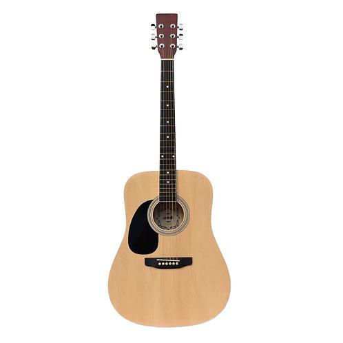 Madera Acoustic Guitar - Natural (Left Handed)