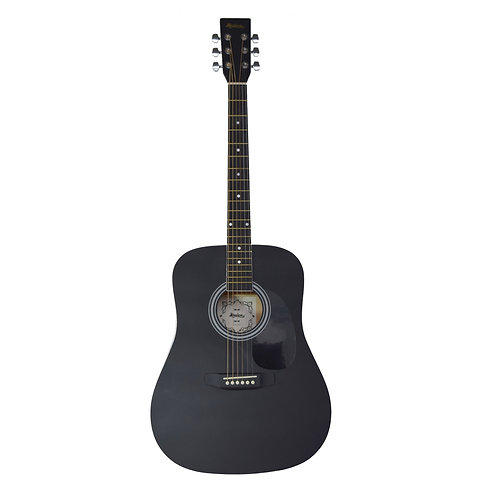 Madera Acoustic Guitar - Black Satin