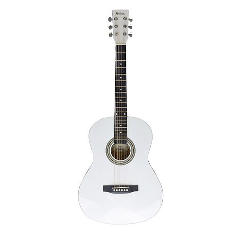 Madera  3/4 Acoustic Guitar - White
