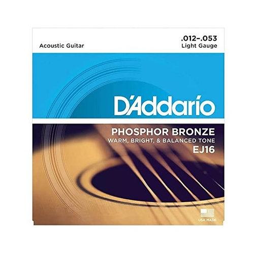 D'Addario Acoustic Guitar Strings - Light