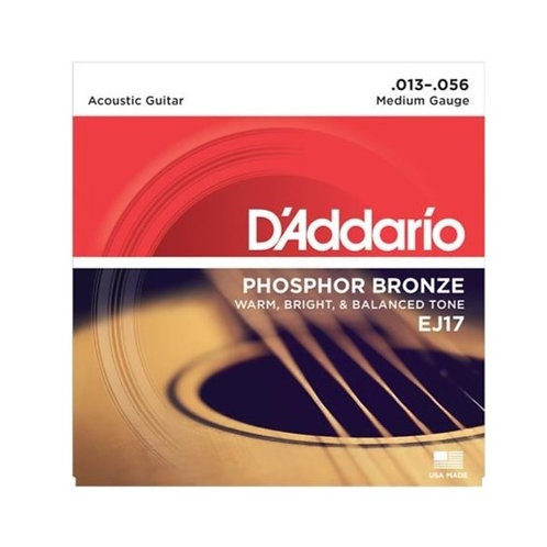 D'Addario Acoustic Guitar Strings -Medium
