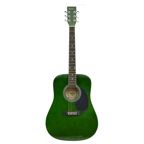 Madera Acoustic Guitar - Green