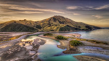 Cable-Bay-Nelson- Tasman-Coastal-Pipen-Island-Sea-Blue-Water-Clouds-Inlet