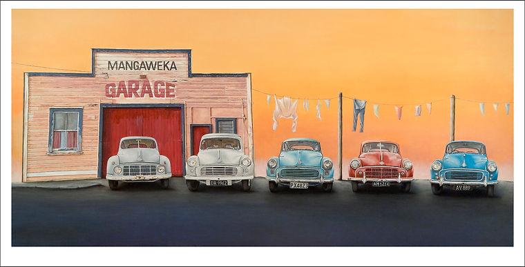 Mangaweka_Garage_Morris_Minor_Old_Garage_Painting.