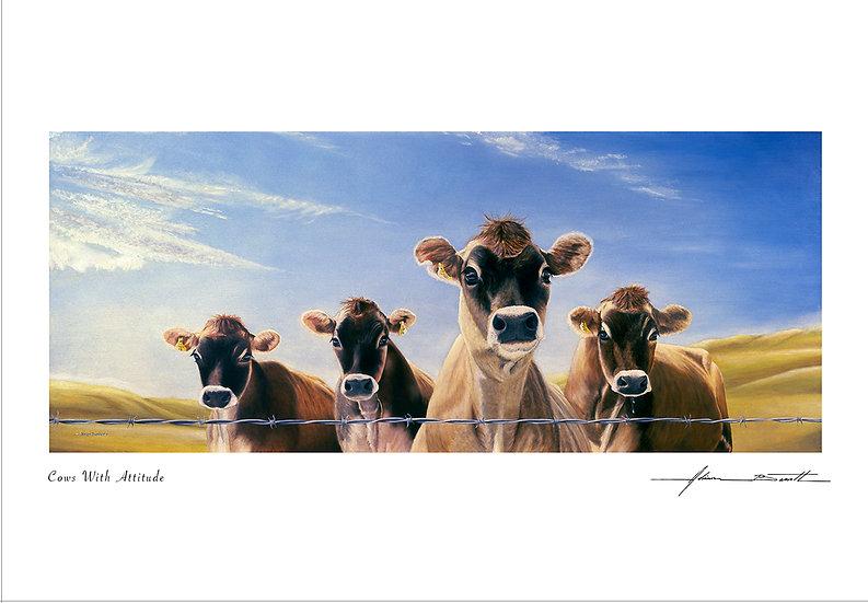 Cows With Attitude