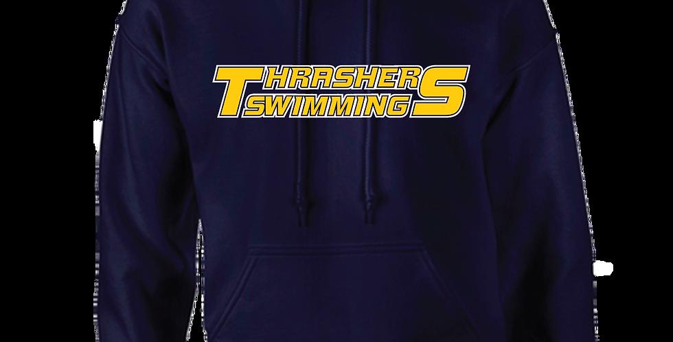 Thrashers Pride Polyester Navy Hoodie
