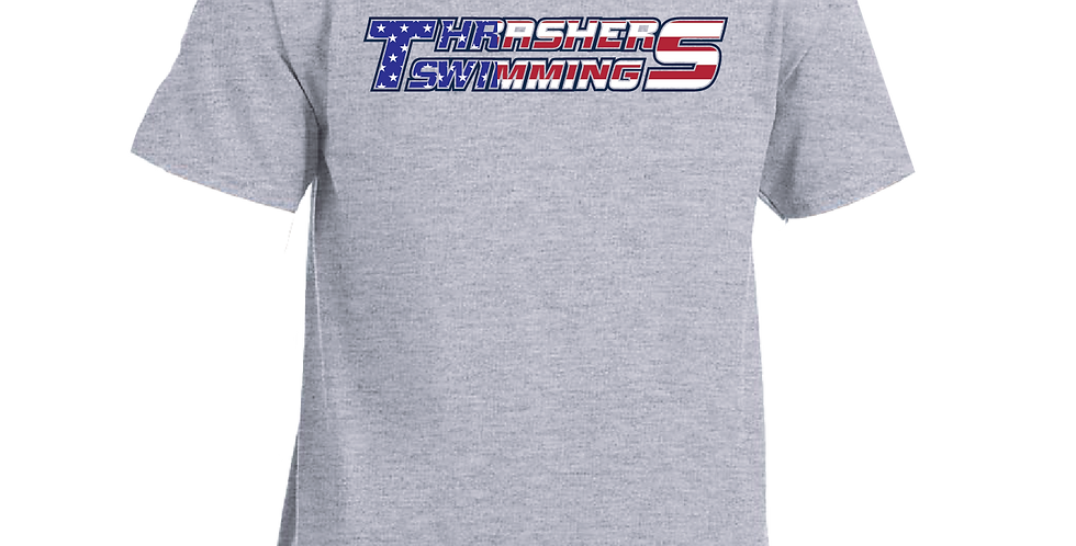 American Pride Sports Grey T-Shirt