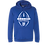 Thumbnail: Royal Blue Hooded Sweatshirt