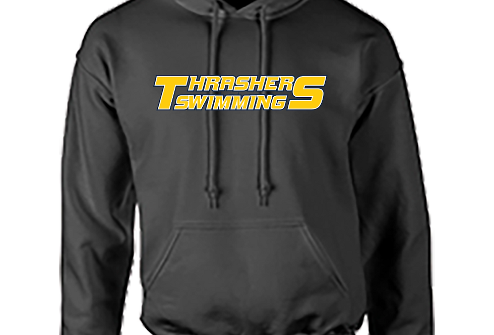 Thrashers Pride Polyester Charcoal Hoodie