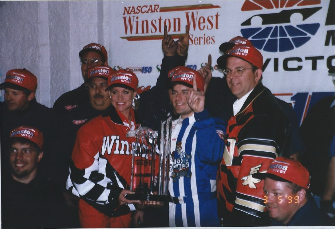 Winston West LV Win in 1999