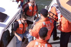 Coast Guard Visit