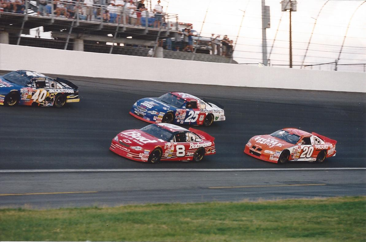 Stewart, Earnhardt Jr & Marlin