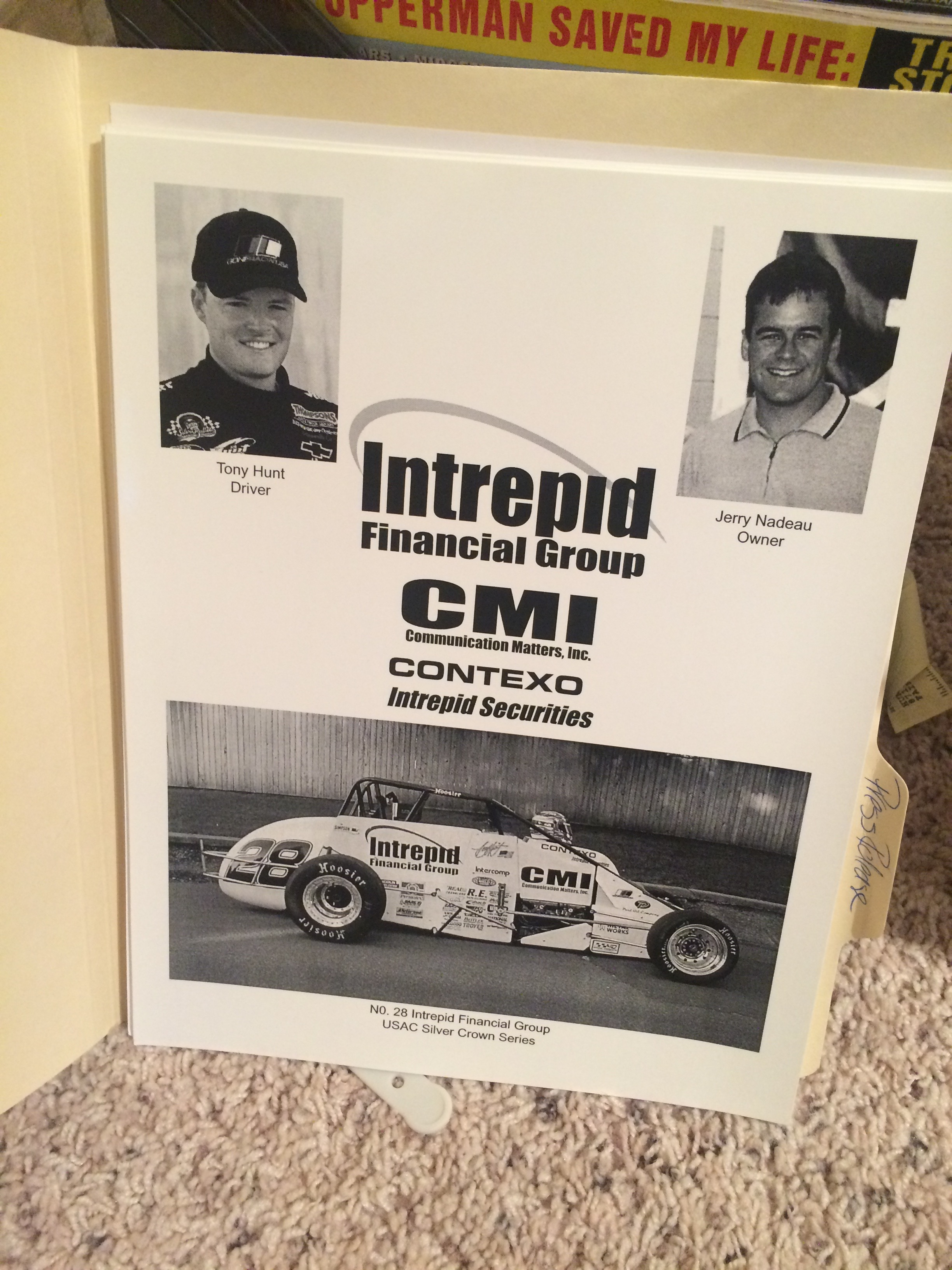 Our old Sprint Car Team