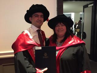 Congratulations, Dr Amin!